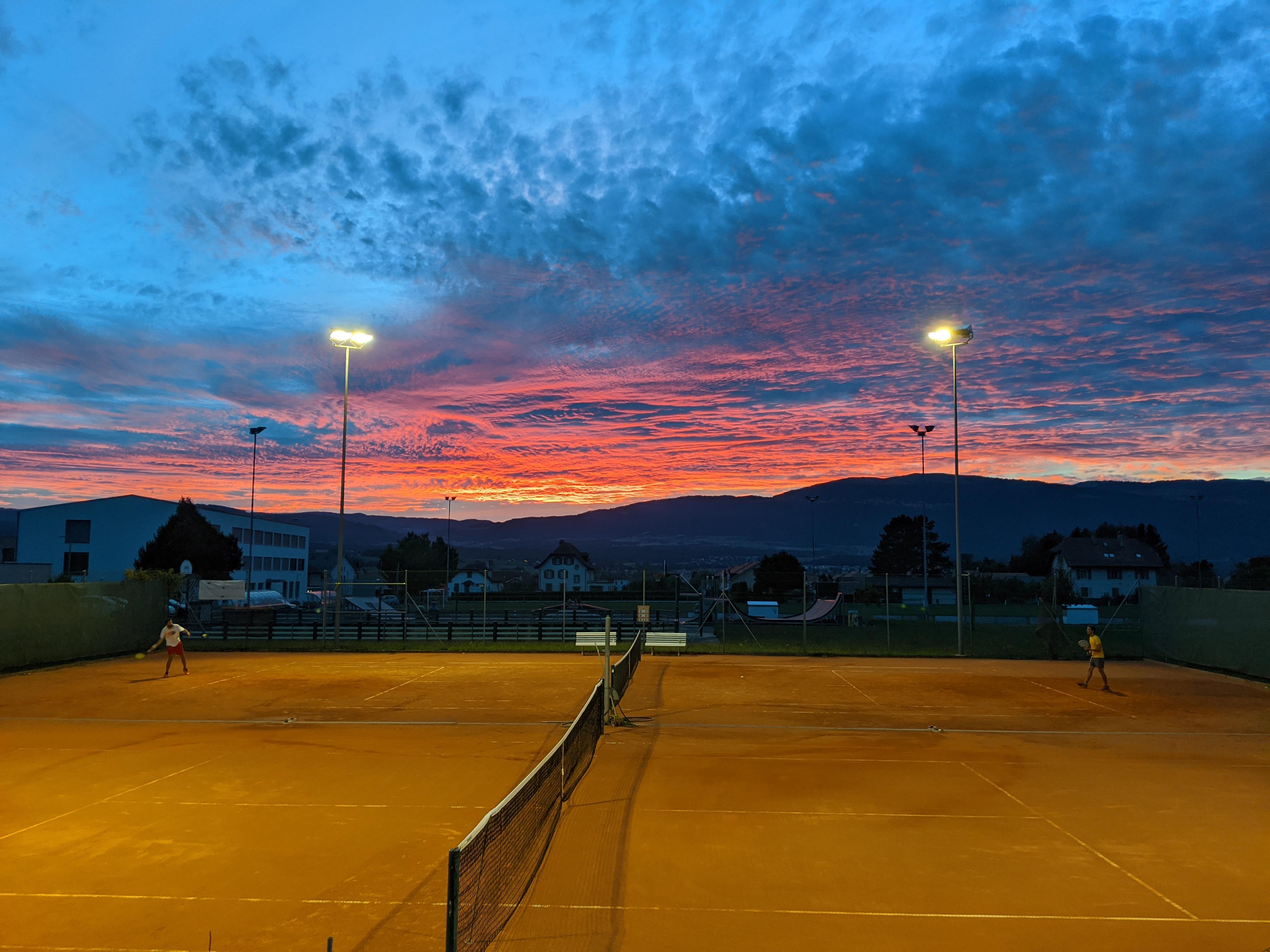 Le Tennis Club de Chavornay vous souhaite une excellente saison 2021